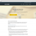 Castle Bail Bonds Website (Desktop View)
